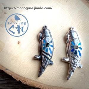 【新作】silver 925 小鳥モチーフのペンダントの試作