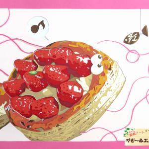 「いちごの日」記念 いちごの彫紙アートをたくさん載せちゃいます!