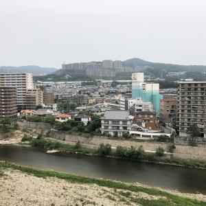 宝塚駅から不動滝(厳島弁財天)を経て塩尾寺へ。