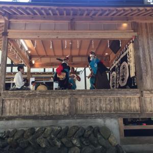 大迫の早池峰神社 神楽殿