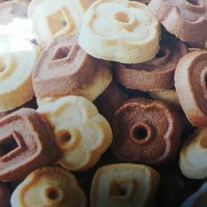 ファミリーマート 2色の楽しさ ミニクッキー