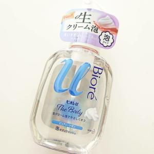 洗いすぎない高潤滑処方の泡で摩擦レス♪ビオレu ザ ボディ【泡タイプ】ピュアリーサボンの香り