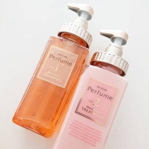 mixim Perfume シャンプー&トリートメントを使ってみました♪