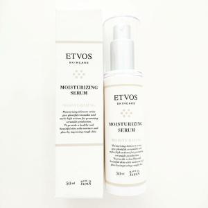 ETVOSの保湿美容液『モイスチャライジングセラム』を使ってみました♪