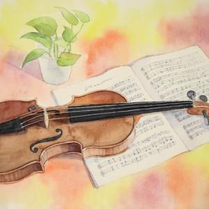 秋の日のヴァイオリン~♪