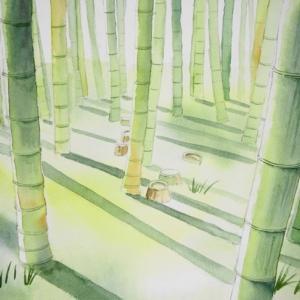 竹林に足を踏み入れて^^