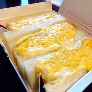 ◆北新地サンド@大阪(北新地)◆噂のタマゴ「カツ」サンド♪ 繁華街にあるテイクアウトオンリーのサンドイッチ専門店です。