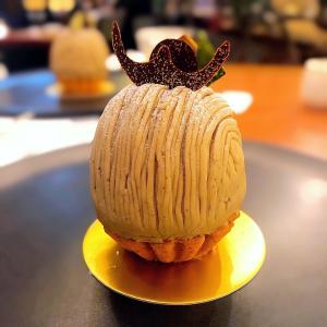 ◆パティスリーサツキ@永田町◆スーパーモンブラン♪ ホテルニューオータニ内パティスリーSATSUKIにて、季節限定でいただける名物ケーキです。