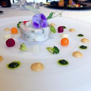 ◆アンシャンテ@新橋◆第一ホテル東京のメインダイニング♪ 落ち着いたトーンで統一されたクラシカルなフレンチレストランです。