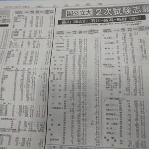 国公立大学倍率発表!!