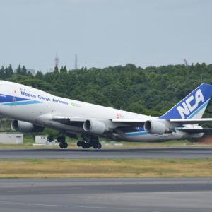 6と8はどこへ行った・・・?(日本貨物航空のボーイング747-400F)