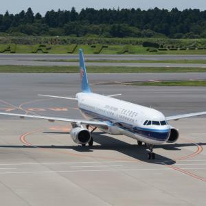 1タミ北、いったいどうなって行くのでしょう・・・(中国南方航空のエアバスA321-200)