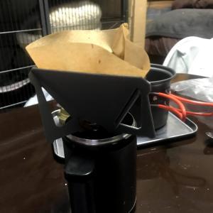 部屋でツーリングコーヒーの練習!問題はちょっとあった……。