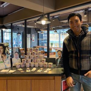 シウォン★【Cafeにサプライズ訪問】