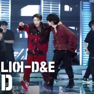 D&E★【サイドカメラ-MusicBank!壁紙サイズカット】