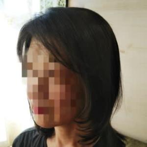 ちょっぴり前髪カットでとっても爽やかすっきりヘアスタイリング