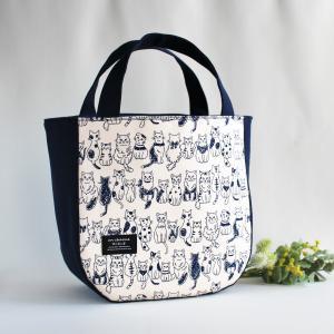 ねこ と パンダ のトートバッグ