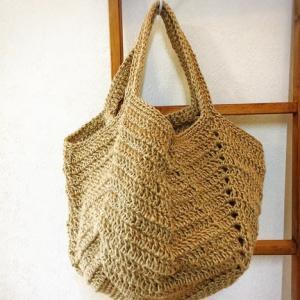 長編みのbag