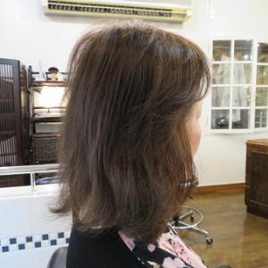ブローで作るヘアスタイル