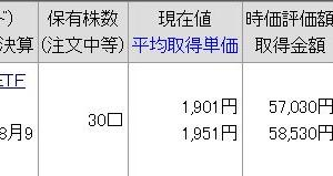 iシェアーズ S&P500 米国株 ETF(1655)運用報告