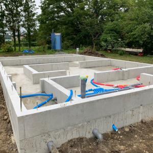 ◆丸森町|M邸|そらの和様新築工事|基礎工事完了しました!!!
