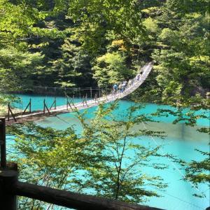 ●とても素敵な景色をシェアします|寸又峡|夢の吊橋