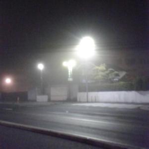 ^-^◆ 霧 に む せ ぶ 夜 ( ̄ー ̄)