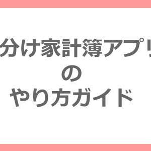 袋分け家計簿アプリのやり方簡単ガイド!