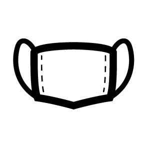 マスクがつけられない人向けの意思表示カード
