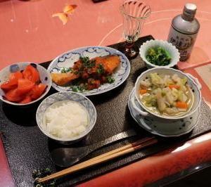 2月13日 夕食 & 北海道