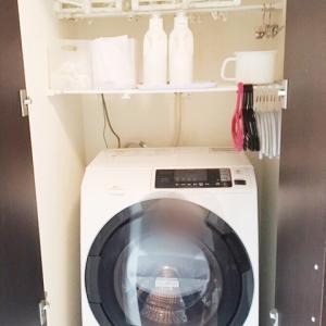 10年で変わった洗濯室内干し