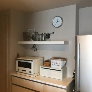 キッチンインテリアをすっきりチェンジ