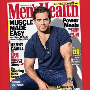 ヘンリー・カヴィルファン垂涎!Men'sHelth誌で特集!おデブキッズだった過去公開!