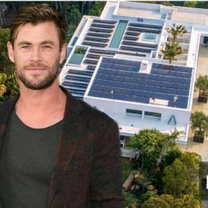 クリス・ヘムズワースの妻エルサ、新築の巨大な自宅をそんなに大きくないと謙遜!