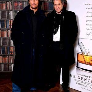 フシギな二人!ヒュー・グラント&マシュー・マコノヒーが『The Gentlemen』イベントに!
