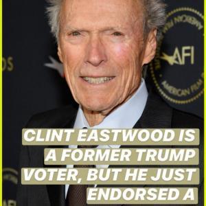 クリント・イーストウッド、トランプ大統領支持を止めたんですって!