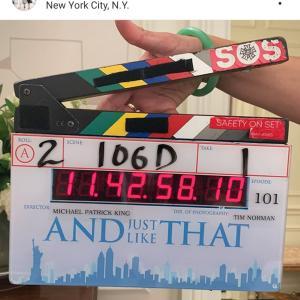 『セックス・アンド・ザ・シティ』続編、順調撮影中!スティーヴとミランダは仲良くやってそう!