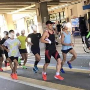 大阪マラソン2週間前ハーフ走