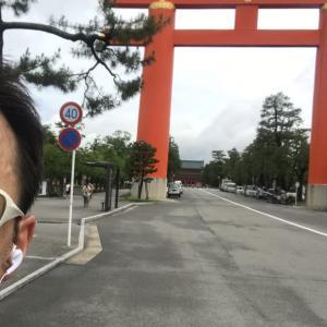 京都ランと母からのメール