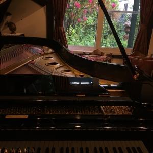 コロナ下でのピアノオンラインコンサートの試み始動