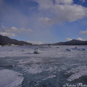 ●雪と氷の糠平湖