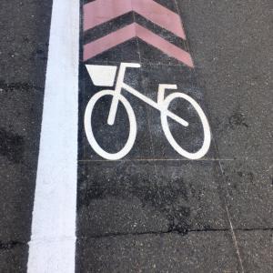 自転車が逃げた!!!