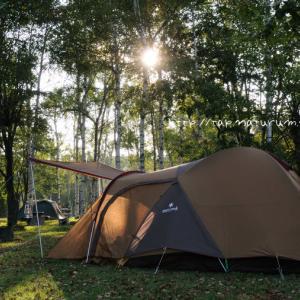 テントやタープを美しく設営できる自在金具の使い方メモ