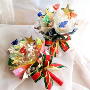クリスマスのプチギフトにキャンディブーケを