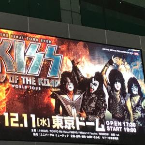 KISS 東京ドームに行きました。End of The Road world tour