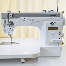 職業用ミシン【ジャノメミシン HD9】買いました。