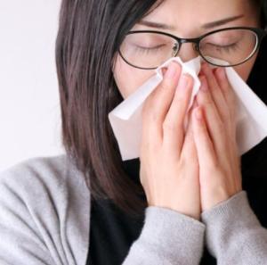 さっきまであんなにひどかった花粉症が治っています!/ホメオパシー