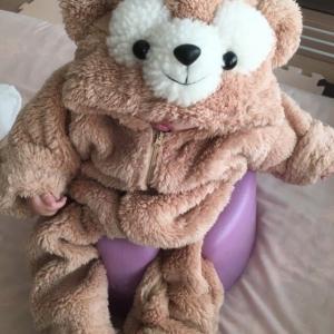 【画像付作り方】赤ちゃん用可愛いダッフィー風着ぐるみ 作り方