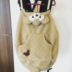 【手作り】抱っこひもに!ダッフィー風防寒ケープ、カバーの材料