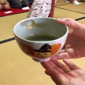 富松神社でお茶会